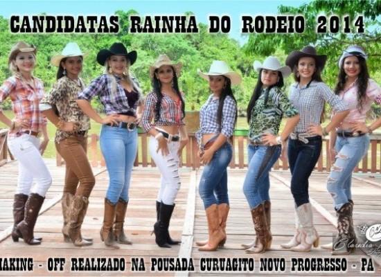 MAKING-OFF RAINHA DO RODEIO 2014 no POUSADA CURUAGITO (Fotos: Jorge Tadeu)