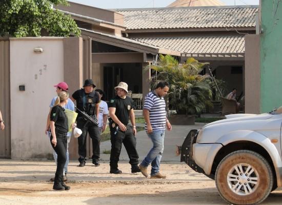 Policia Federal cumpriu mandado de busca apreensão em Novo Progresso