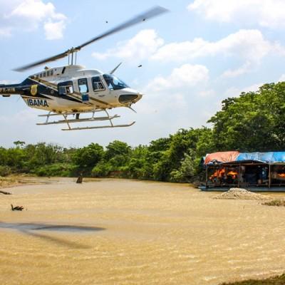Operação da Funai e Ibama desativa garimpos ilegais no Pará