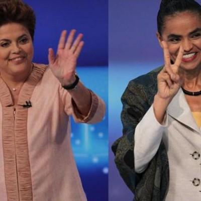Dilma tem 40% das intenções de voto e Marina 27%