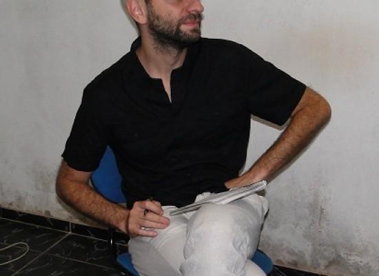Repórter Francês visita Redação do Jornal Folha do Progresso