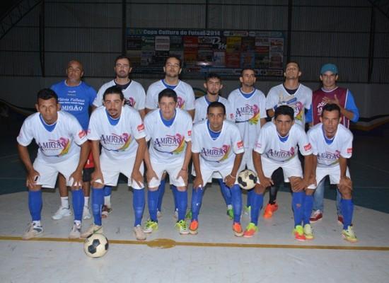 Amigão é tetra campeão da Copa Cultura de Futsal