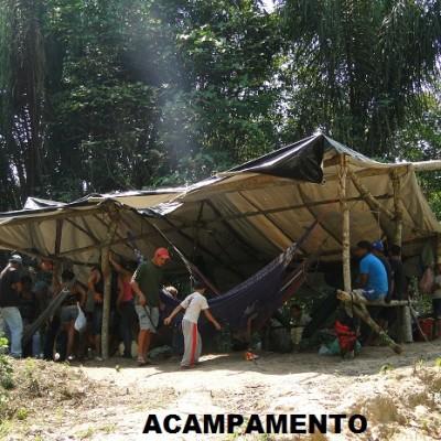 Mais de 300 famílias ocupam terreno particular nas proximidades da GransLine em Novo Progresso