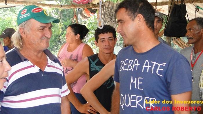Coordenador do movimento Carlos Roberto (Foto - juliano Simionato)
