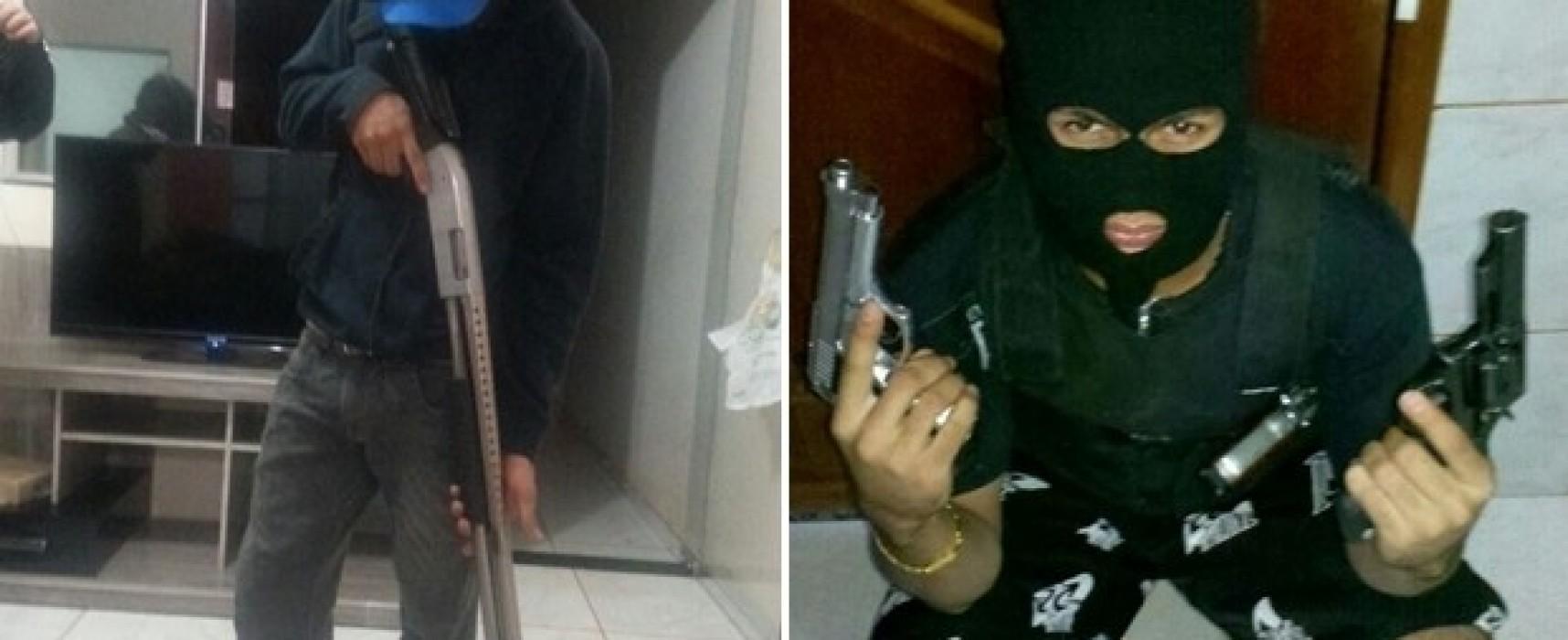Presa quadrilha suspeita de roubar bancos e se exibir nas redes sociais