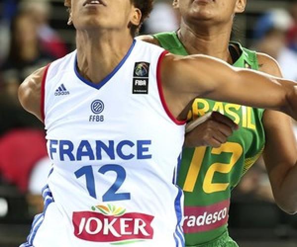 Brasil endurece no 1º quarto, mas cai para a França e está fora do Mundial