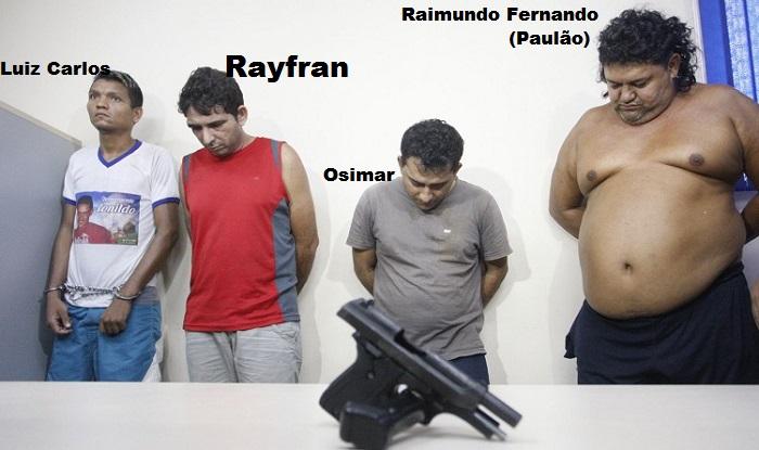 Presos pelo envolvimento na Morte de Jose e Leandro