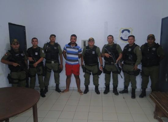 Bandido é preso acusado de instalar chupa cabra em caixa eletrônico do Banco da Amazônia em Novo Progresso