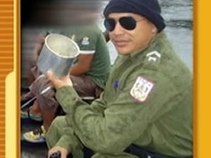 Cabo Zoilo Cerdeira foi acusado de fornecer armas a quadrilha de assaltantes (Foto: Arquivo/TV Tapajós)