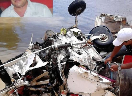Corpo de piloto é encontrado no Rio Curua