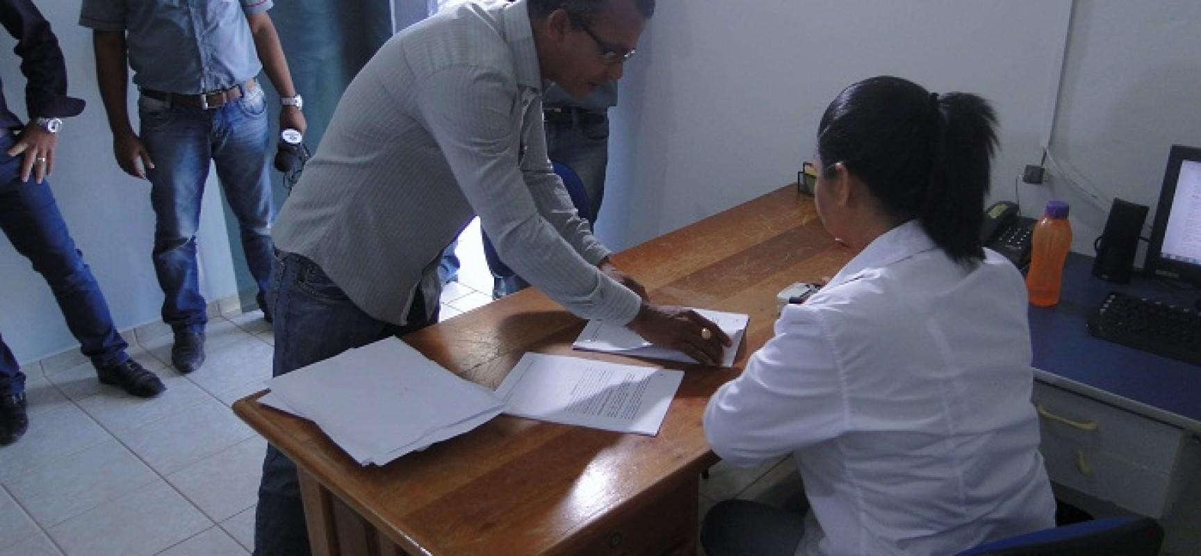 Briga pelo poder-Prefeito Afastado Osvaldo Romanholi (PR), denuncia seis vereadores no Legislativo Progressense.
