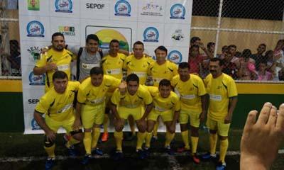 Seleção de Vitória do Xingu foi derrotada