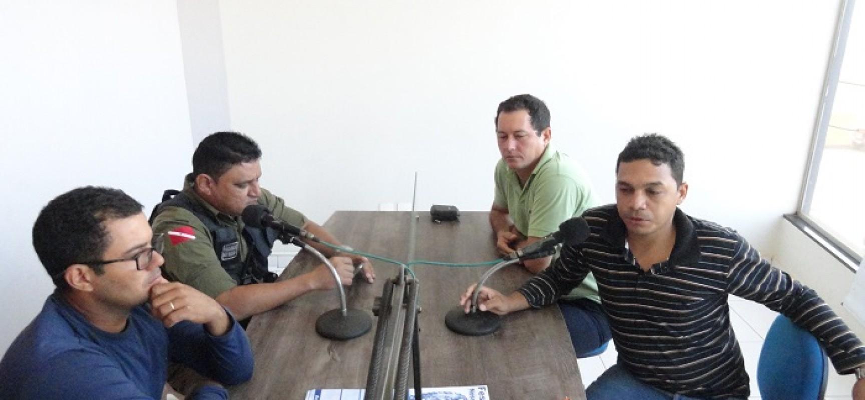 Alô Comunidade entrevista sargento da PM Marcos responsável pelo PROERD e ex dependentes químicos