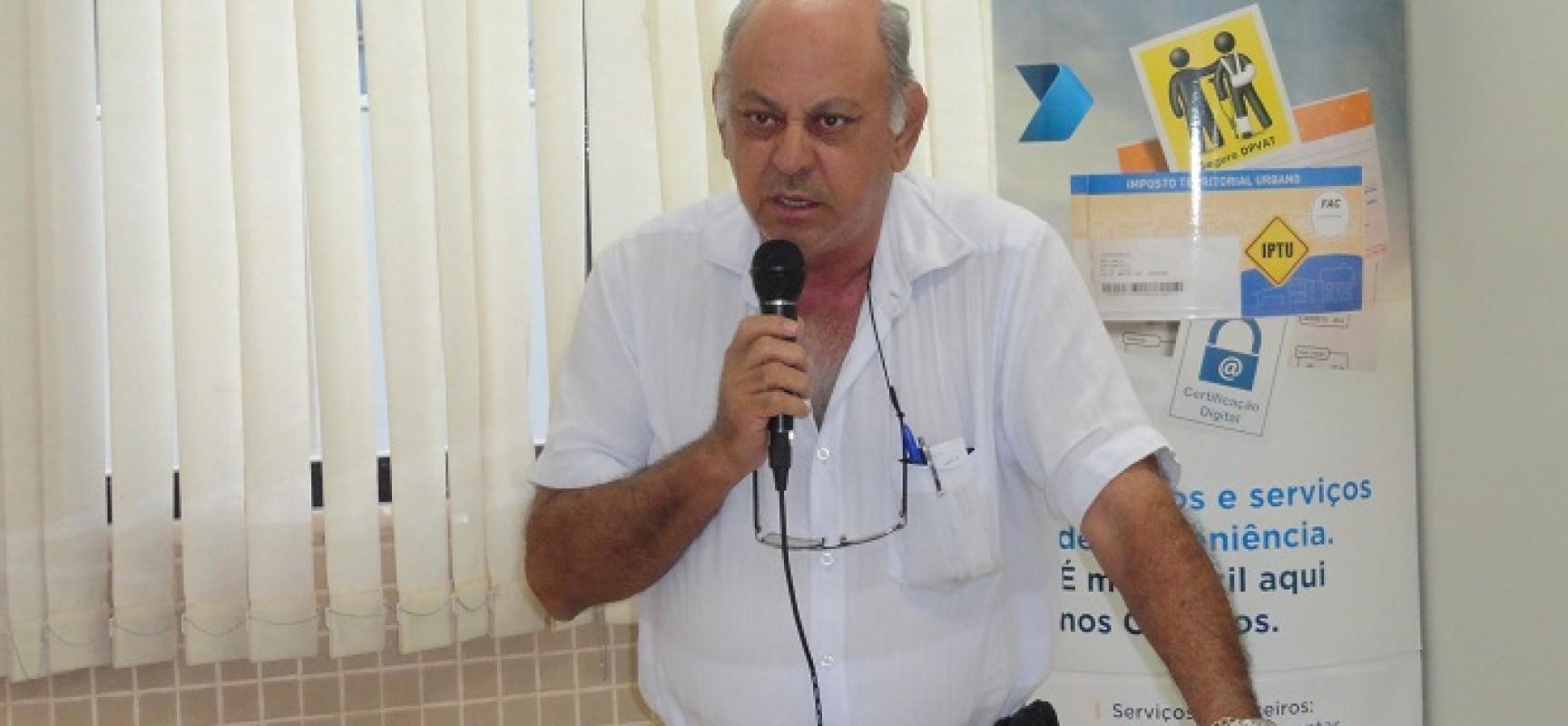 Prefeito Joviano de Almeida está internado na UTI no município de Sinop-MT