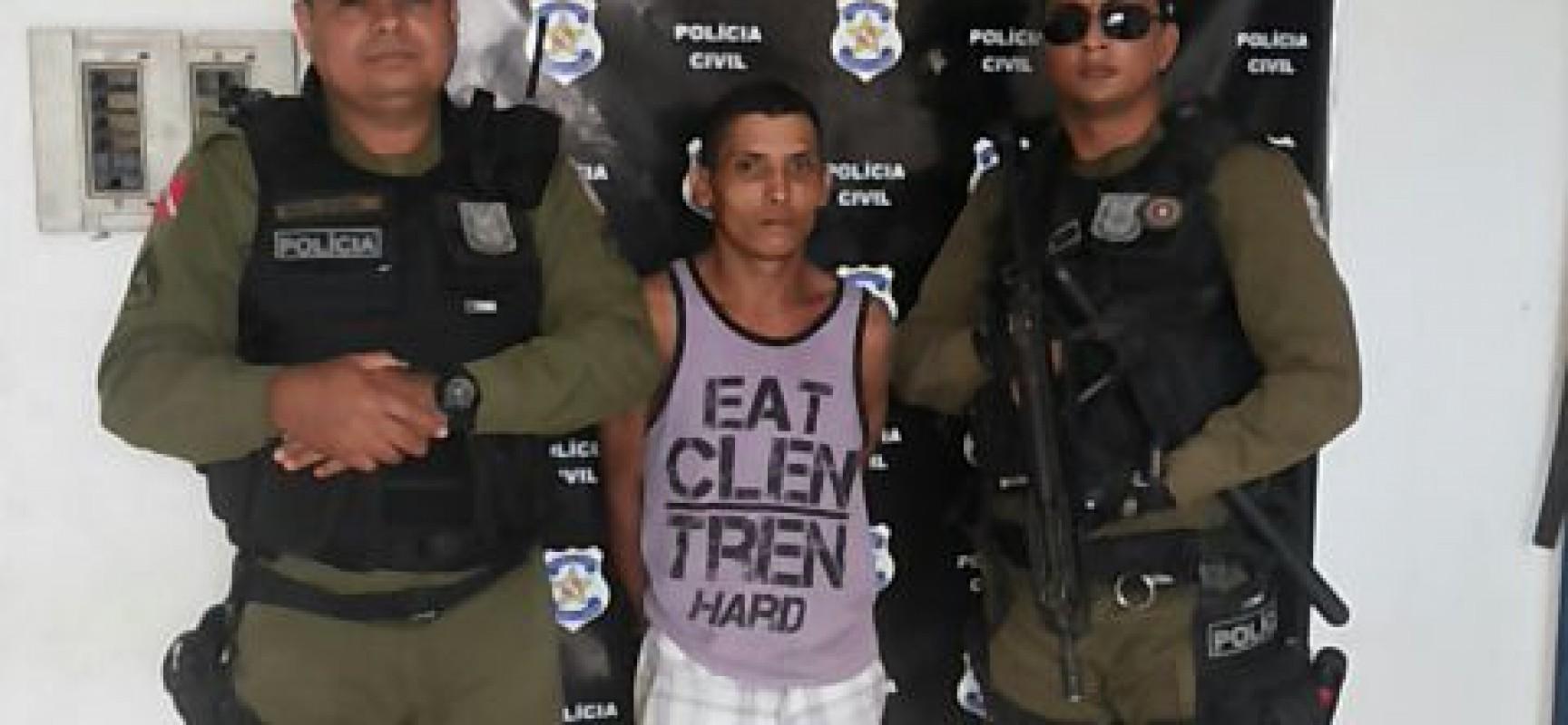 Policia Militar prende mais um foragido da cadeia de Novo Progresso