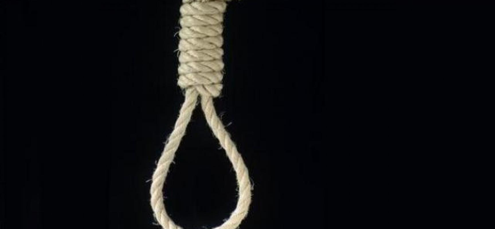 Sobrinha encontra tio enforcado em uma corda no Jucelandia