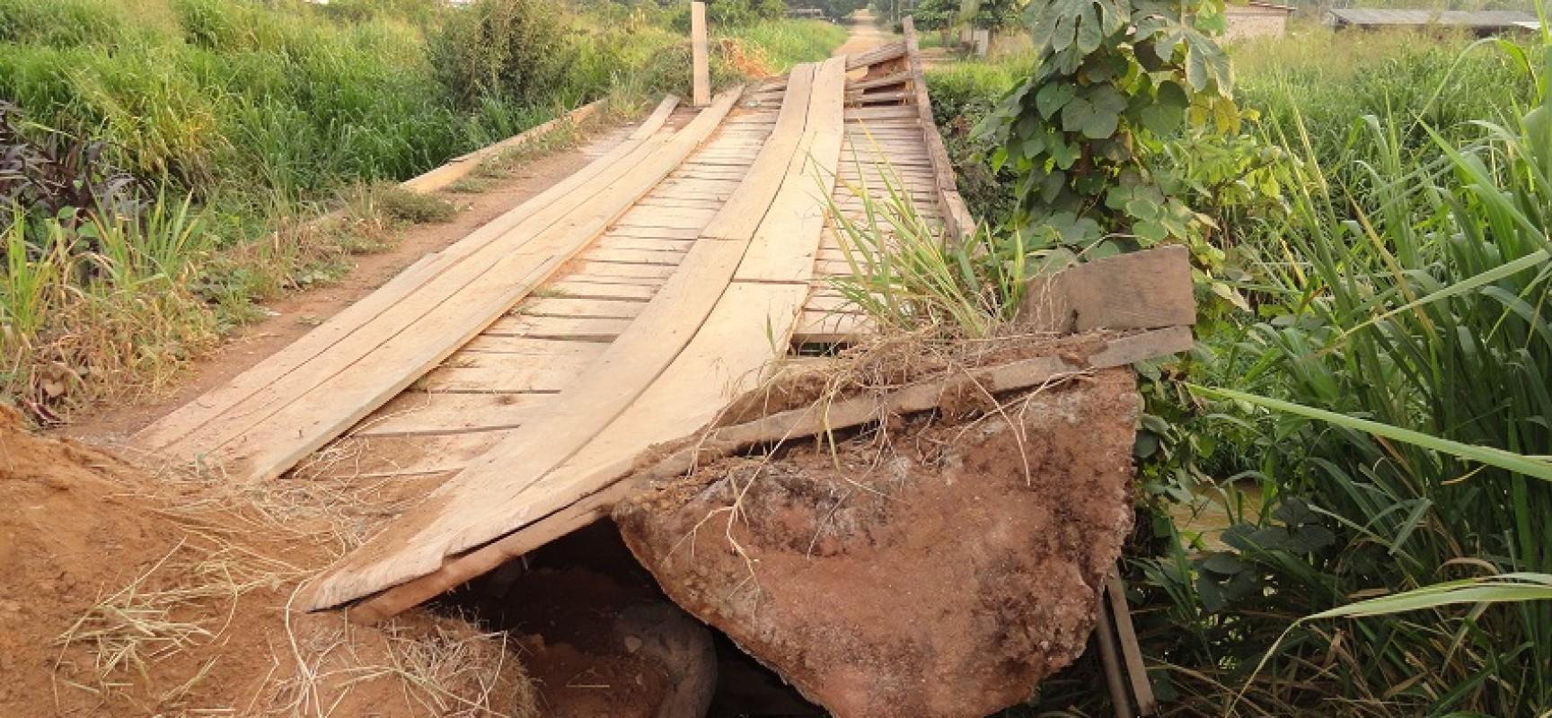 Ponte está interditada em Novo Progresso