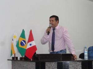 Prefeito Ubiraci Soares  (Foto:Arquivo Jornal Folha do Progresso)