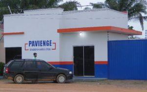 Escritório da empresa PAVIENGE em Novo Progresso.