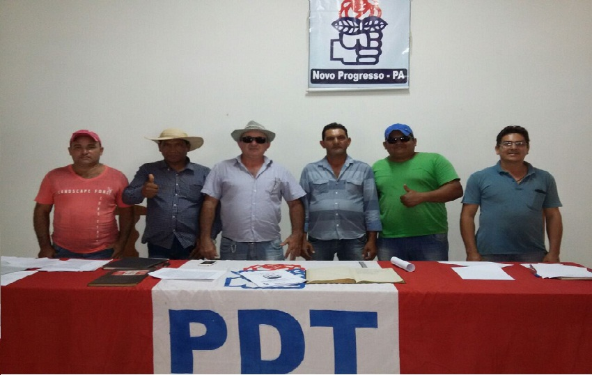 Candidatos a Vereadores do PDT