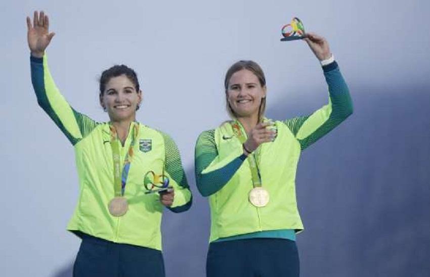 Martine Grael e Kahena Kunze (ouro) - vela