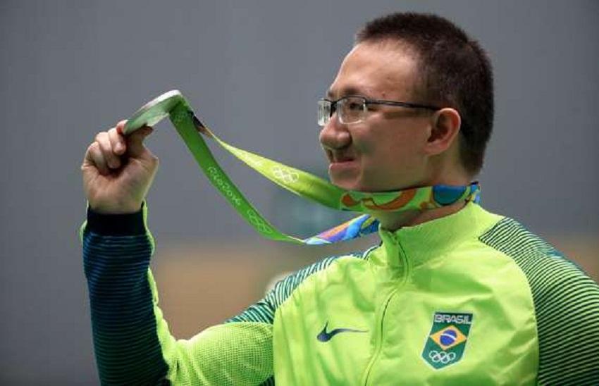 Felipe Wu (prata) - tiro esportivo