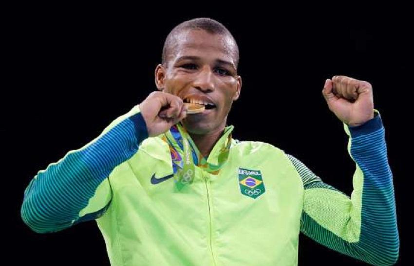 Robson Conceição (ouro) - boxe