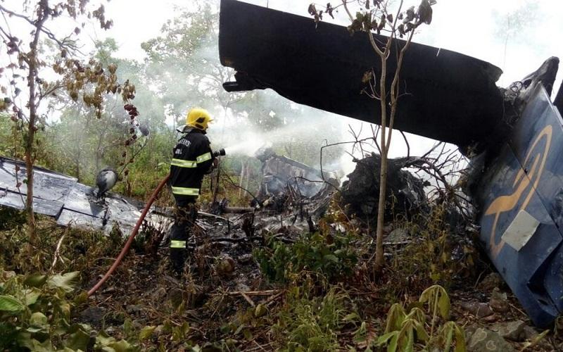 Aeronave cai próximo à Cidade de Goiás
