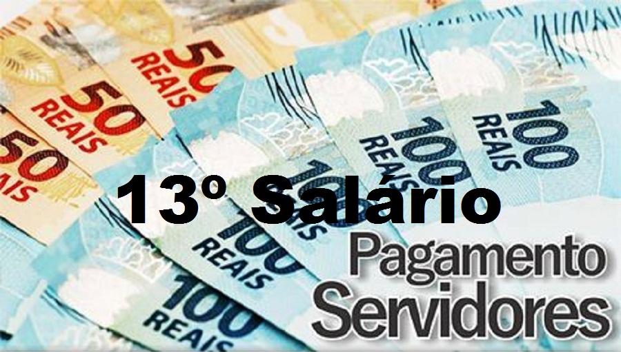 Resultado de imagem para 13º salário de servidores