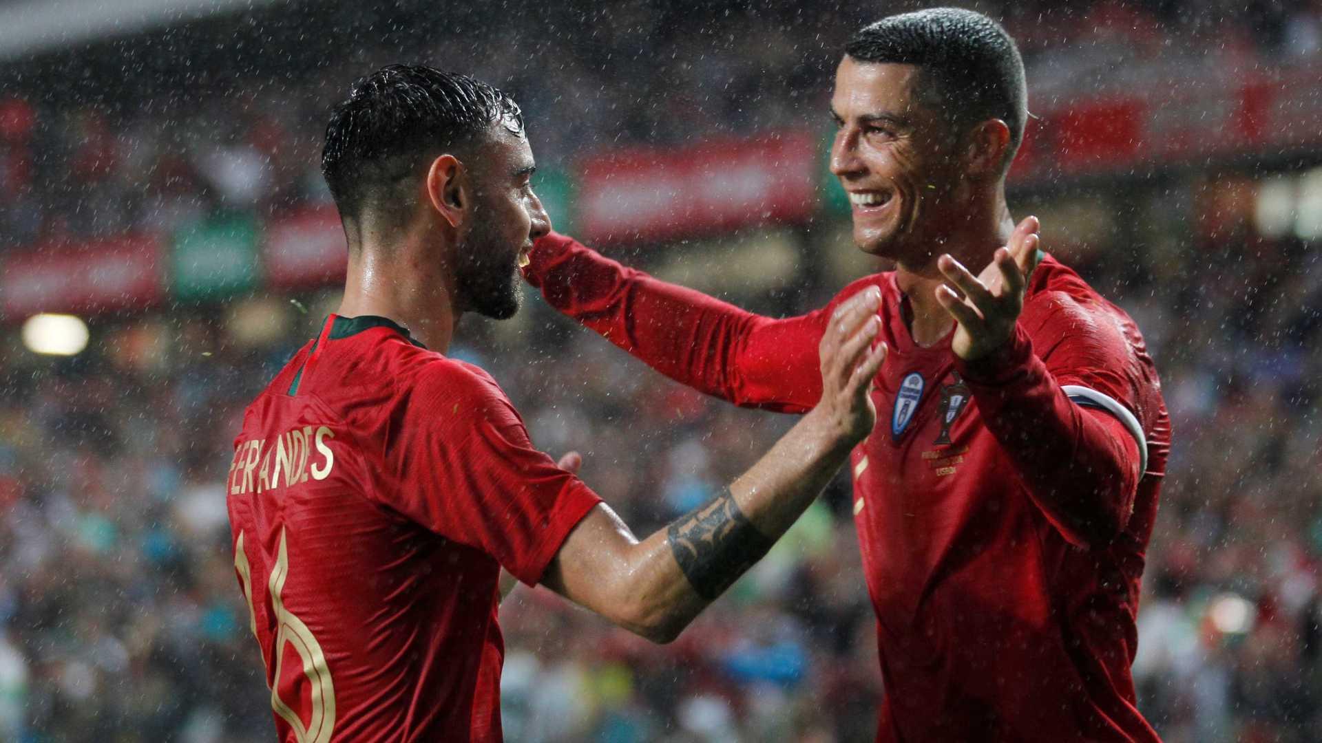 Portugal fecha preparação com vitória e volta de Cristiano Ronaldo ... f90cdc28cc5f4