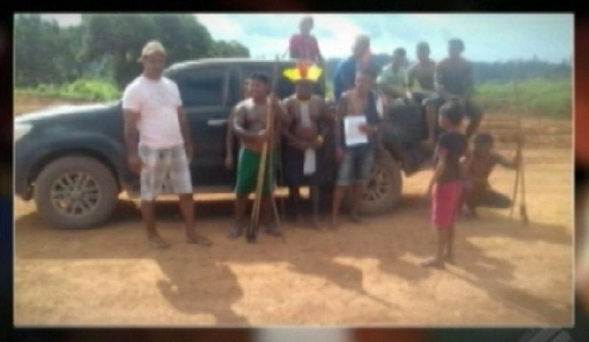 7366be02ded0 Indígenas mantém protesto na BR-230 cobrando promessas da Norte ...