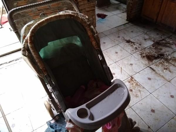 Seis crianças foram resgatadas. — Foto: PMMT
