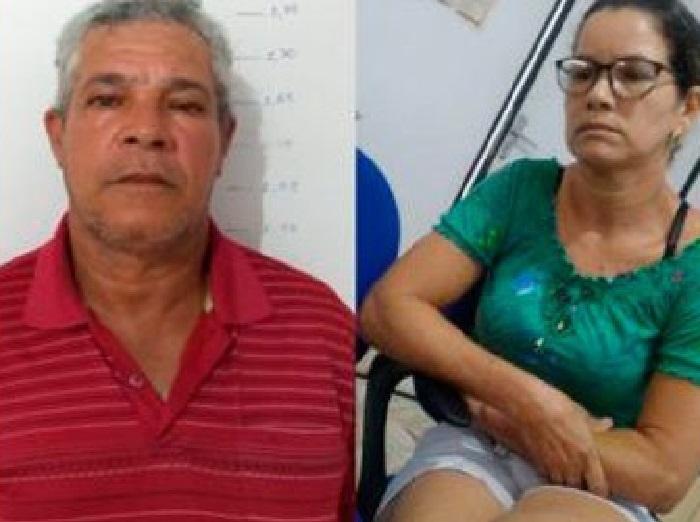 Vanilda e Gelson Aguiar são os filhos acusados de mandar sequestrar a mãe Judith -(Foto:Reprodução)-