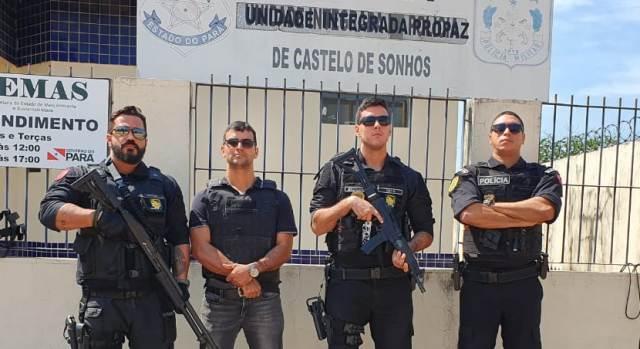 Agentes da Polícia Civil que participaram a operação (Foto:Divulgação)