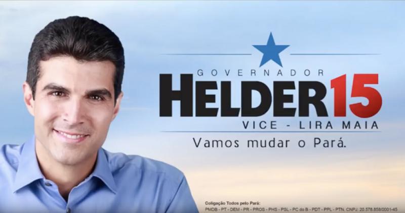 De fato, a campanha de Helder para o governo do estado foi uma das mais caras do Brasil.(Foto:Reprodução)