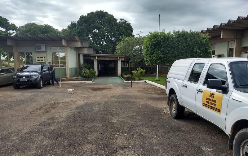 Sede do Incra em Rondônia é alvo de operação da PF — Foto: Diêgo Holanda/G1