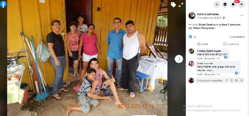 O Escrivão (PC), Rui Nelson esteve lotado em 2013, na delegacia de Policia Civil de Novo Progresso. ele postou em sua pagina no facebook-(Foto:Facebook)