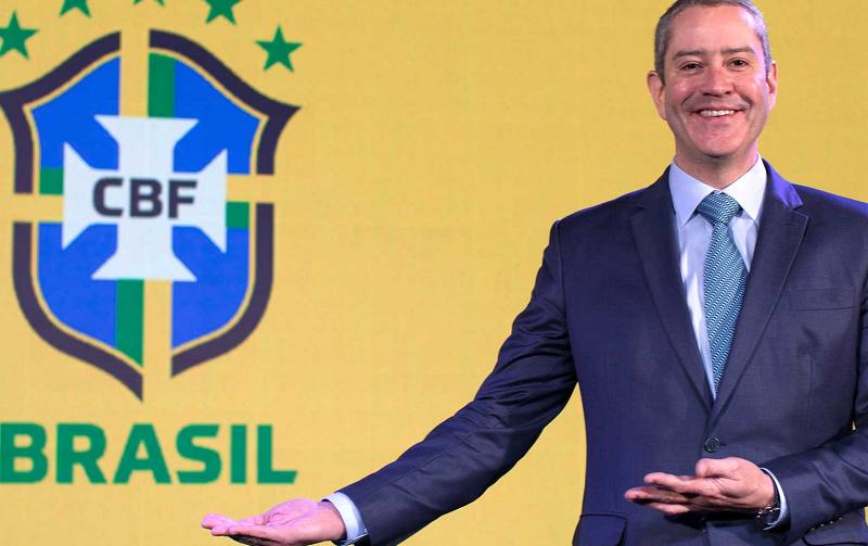 Rogério Caboclo, presidente da CBF Lucas Figueiredo/CBF