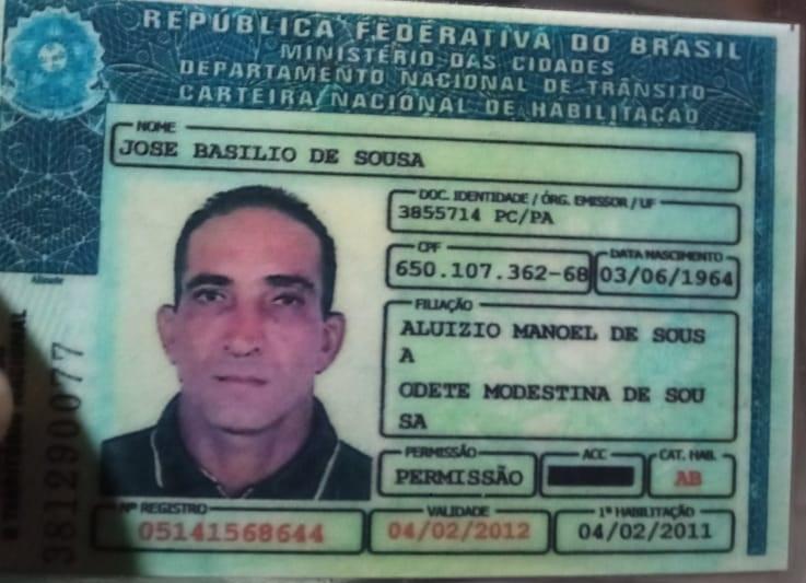 José Basílio de Souza- Vulgo, Zagueiro, morto no confronto (Foto:Reprodução)